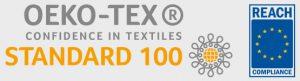 Oeko-Tex and EU Reach certified
